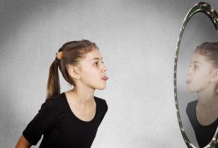 self judgment mirror