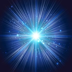 24892985 - abstract background explosion of the blue star