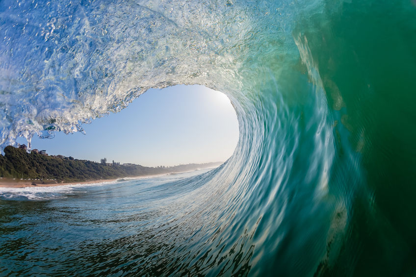 Wave Hollow Inside Out